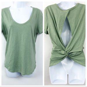 Lululemon Find Your Twist Top Heathered Green